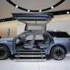 The Lincoln Navigator concept vehicle is seen during the media preview of the 2016 New York International Auto Show in Manhattan, New York