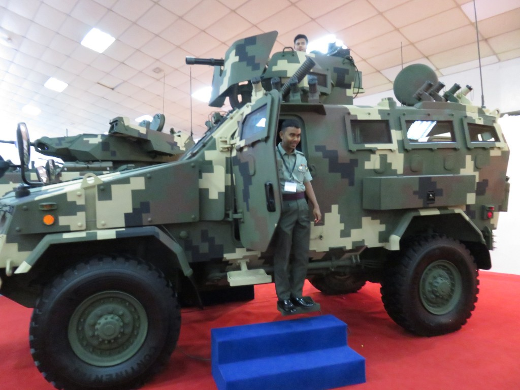 Defence Services Asia 2016