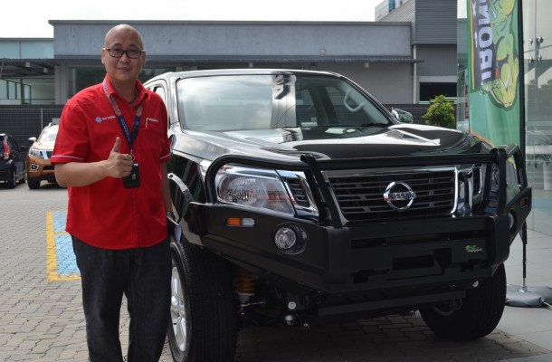 Introductory Launch of the Ironman 4X4 by Director of Rustcare Sdn Bhd, Nicholas Ling.