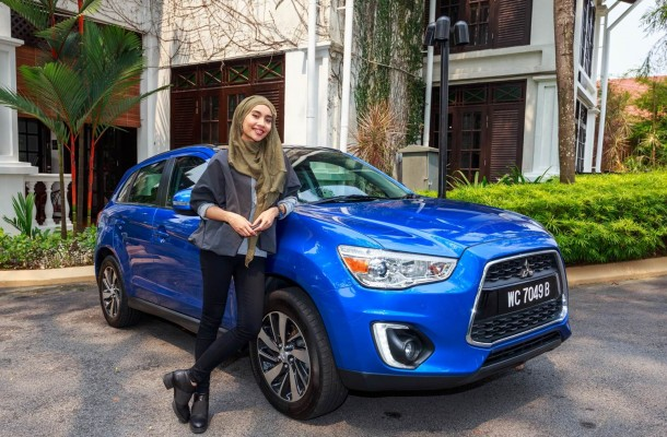 Malaysian singer and song-writer Yuna as the ambassador for the latest Mitsubishi ASX campaign