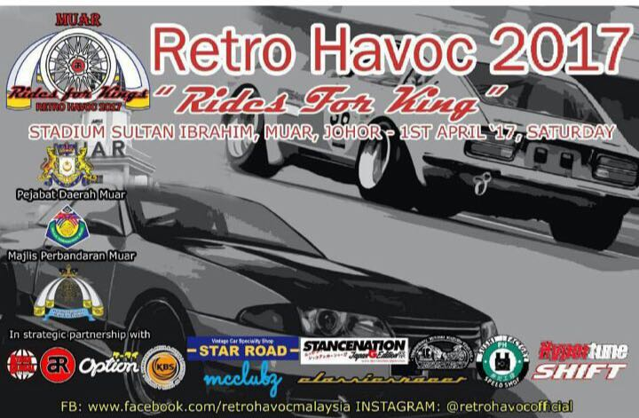 Retro Havoc 2017 Official Poster