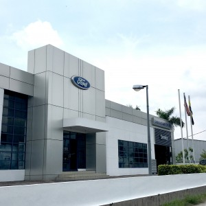 The Upgraded Ford Showroom
