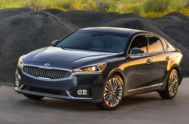 Kia's new Cadenza scored highly in the J.D. Power's 2017 Initial Quality Study.