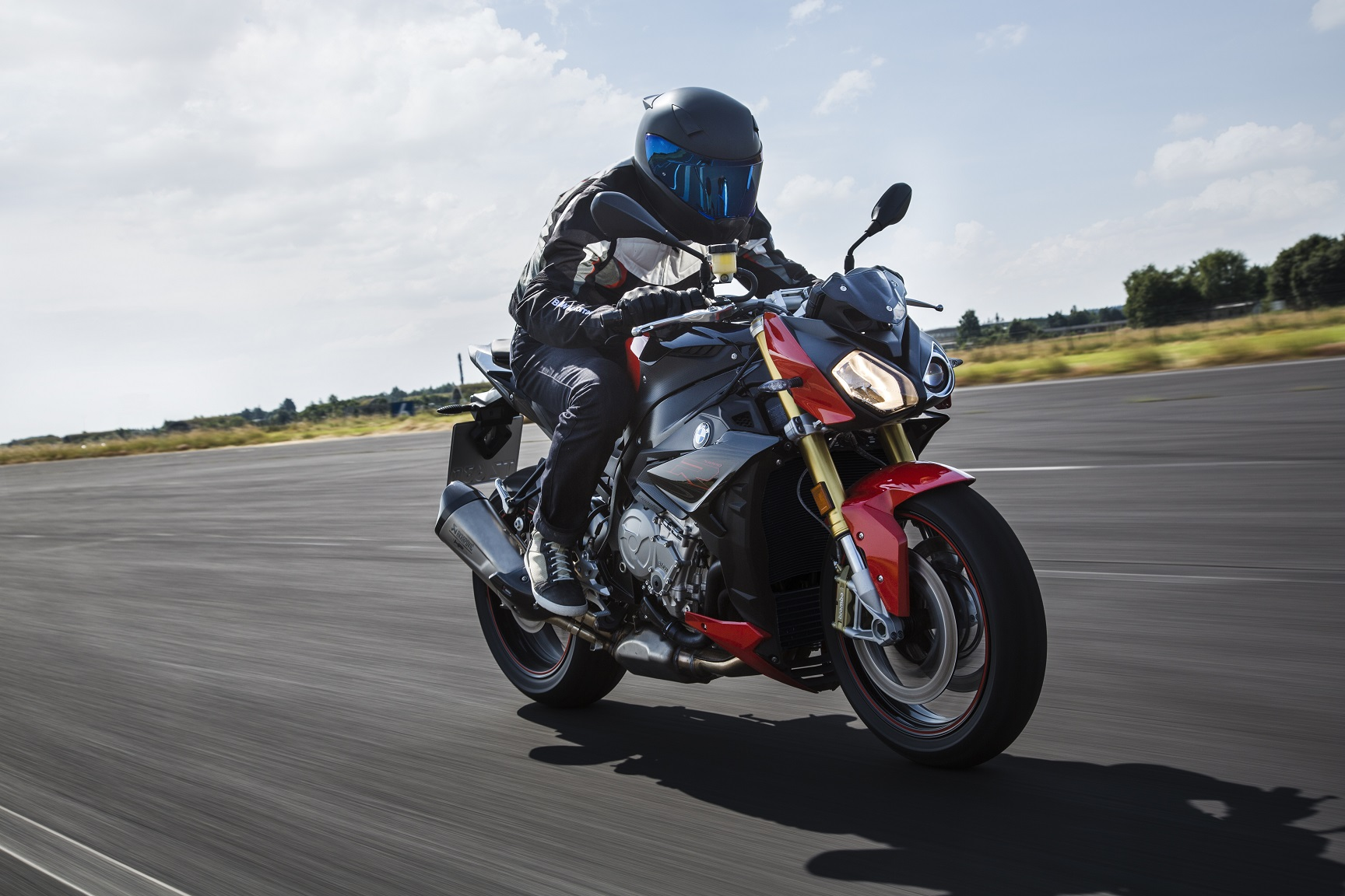 The new BMW S 1000 R has been improved to provide better handling and safety.